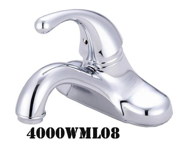 4 in. Single Handle Lavatory Faucets